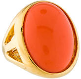 Kenneth Jay Lane Large Enamel Ring