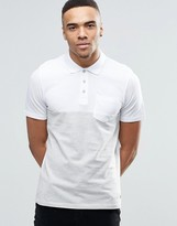 Jack and Jones Color Block Polo Shirt