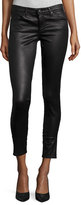AG Adriano Goldschmied Legging Ankle Leatherette Light - Black