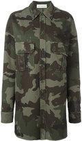 Faith Connexion camouflage shirt - women - Cotton - M
