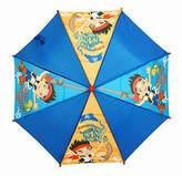 Disney Star-Brands Jake and Never Pirates Stick Umbrella, 78cm, Multicolour