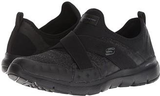 Skechers Flex Appeal 3.0 (Black) Women's Shoes