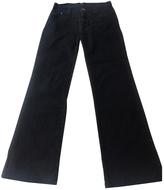 Max Mara Black Cotton Jeans