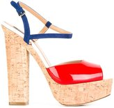 DSQUARED2 Ziggy sandals - women - Patent Leather/Leather/Calf Leather - 36