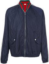 Gucci windbreaker bomber jacket - men - Cotton/Polyamide/Viscose/Wool - 50