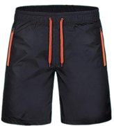 Bonaweite Men Lightweight Athletic Gym Shorts Quick-Dry Beach Shorts 4XL