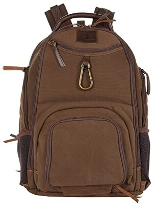 STS Ranchwear The Foreman Swiss Army Backpack (Chocolate) Backpack Bags