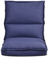 Adjustable Lounger Floor Game Chair Latitude Run Color: Navy Blue