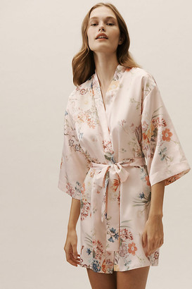 Flora Nikrooz Petra Kimono By in Pink Size M/L