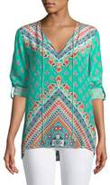Tolani Brooke Graphic-Print Tunic