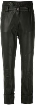 Andrea Bogosian Ronin leather trousers