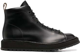 Buttero Lace-Up Ankle Boots