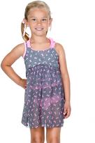 Hula Star Black & Pink Ribbon Dance Cover-Up - Toddler