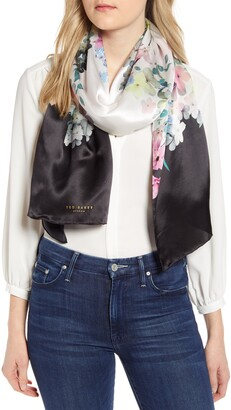 Ted Baker Perriee Pergola Floral Silk Scarf