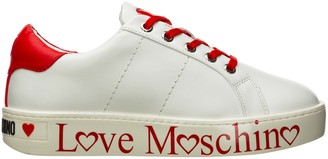 Love Moschino Logo Panelled Sneakers