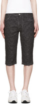 Telfar Black Embroidered Simplex Shorts