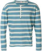 Levi's 1920s Henley striped top