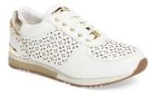 MICHAEL Michael Kors Girl's Allie Laser Sneaker