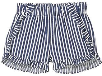 crewcuts by J.Crew Elsa Stripe Shorts (Toddler/Little Kids/Big Kids) (Blue Multi) Girl's Shorts