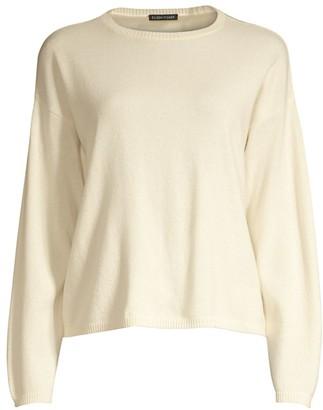 Eileen Fisher Cashmere Crewneck Sweater