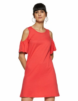 Vero Moda Women's Laura Cold Shoulder Short Dress