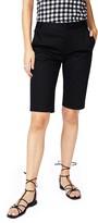 Court & Rowe Stretch Cotton Twill Bermuda Shorts
