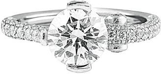 Diana M Fine Jewelry Platinum 2.85 Ct. Tw. Diamond Ring