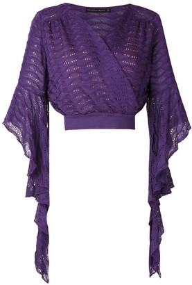 Cecilia Prado Gilda wrap style blouse