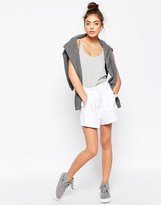 Asos Casual Woven Shorts with Ruched Waistband
