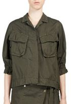 Sacai Overdyed Cargo Pocket Shirt