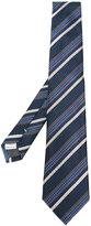 Canali diagonal stripes tie