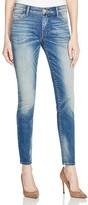 True Religion Jennie Curvy Skinny Jeans in Rolling Indigo