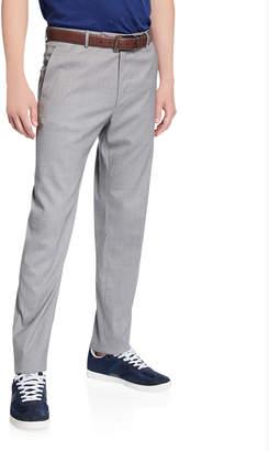 Zanella Men's Luxe Wool/Silk Pants