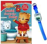 Simon & Schuster Daniel Goes to the Potty Book by Maggie Testa with Potty Watch