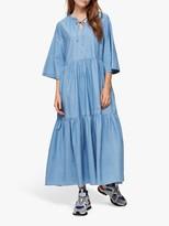 Selected Joy Ankle Dress, Light Blue