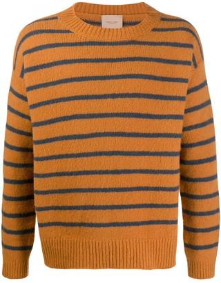 Federico Curradi Striped wool-knit sweater