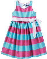 Chaps Toddler Girl Striped Taffeta Dress