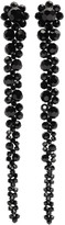 Simone Rocha Black Perspex Drips Earrings
