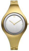 Danish Design Women's 35mm Gold-Tone Steel Bracelet & Case Quartz -Tone Dial Analog Watch IV05Q977