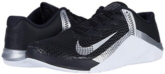 Nike Metcon 6 (Black/Metallic Silver/Metallic Silver) Women's Shoes