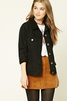 Forever 21 FOREVER 21+ Faux Shearling-Lined Jacket