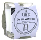 Price's Prices Patent Candles Open Window Jar
