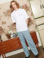 [Unisex] Straight Line Pants Bl