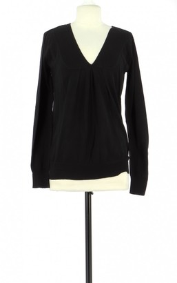Comptoir des Cotonniers Black Cotton Knitwear for Women