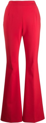 Fausto Puglisi flared tailored trousers