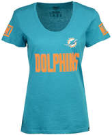 '47 Women's Miami Dolphins Ultra Club Scoop T-Shirt