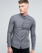 Calvin Klein Jeans Slim Fit Shirt In Castle Rock