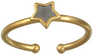Satya Two-Tone Star Adjustable Ring