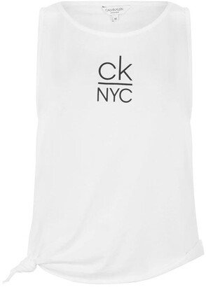 Calvin Klein NYC Knot Tank Top