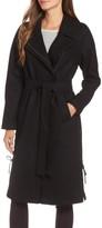 Andrew Marc Women's Baylee Asymmetrical Wool Blend Coat
